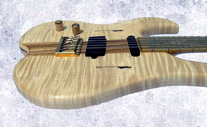 Figured Maple Guitar
